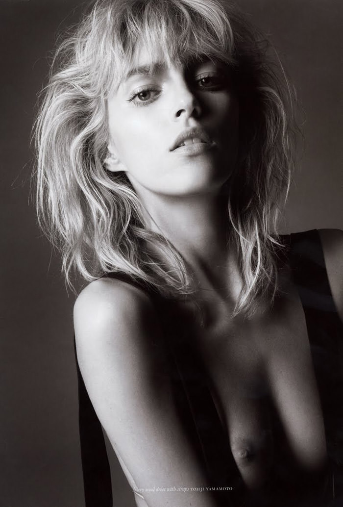 Anja Rubik photographed by Glen Luchford for Purple #14, Fall & Winter 2010 / 2011 3