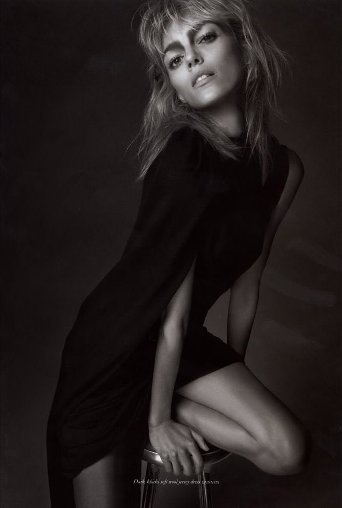 Anja Rubik photographed by Glen Luchford for Purple #14, Fall & Winter 2010 / 2011 4