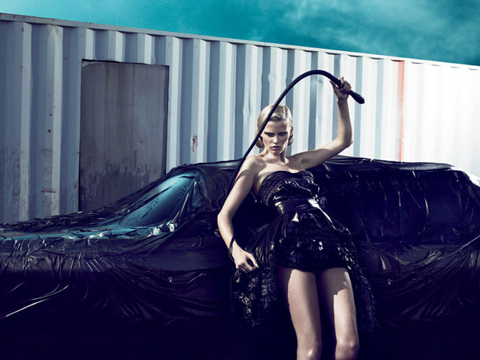 Lara Stone photographed by Mert & Marcus for Interview Magazine, September 2010 3