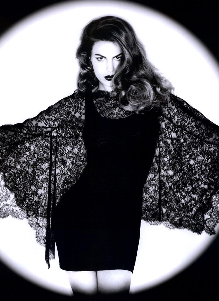 """Cameron Russell photographed by Ben Hassett in """"Equinoxe"""" for Numéro #117, October 2010 11"""