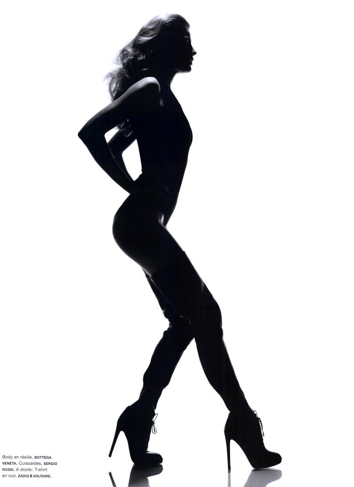 """Cameron Russell photographed by Ben Hassett in """"Equinoxe"""" for Numéro #117, October 2010 3"""
