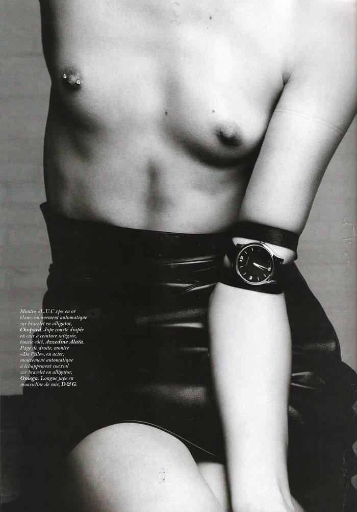 "Freja Beha Erichsen photographed by Hedi Slimane in ""Temps libre"" for Vogue Paris, November 2010 6"