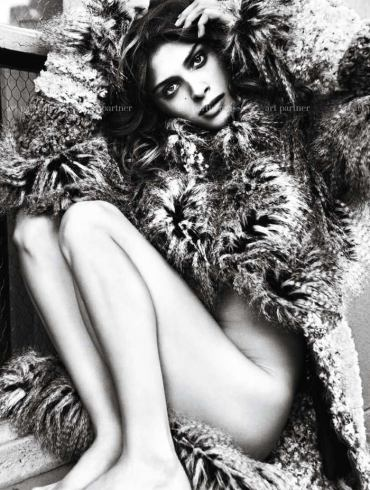 Elisa Sednaoui photographed by Mario Sorrenti for Purple #14 1