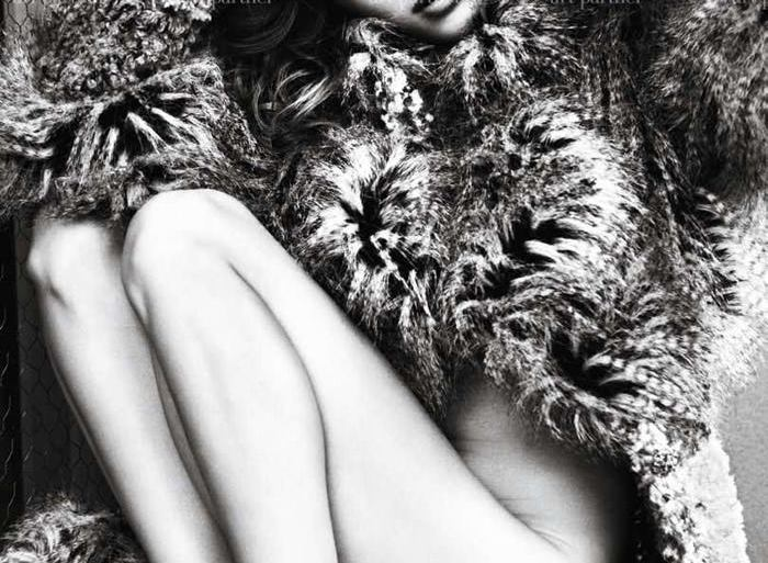 Elisa Sednaoui photographed by Mario Sorrenti for Purple #14 2