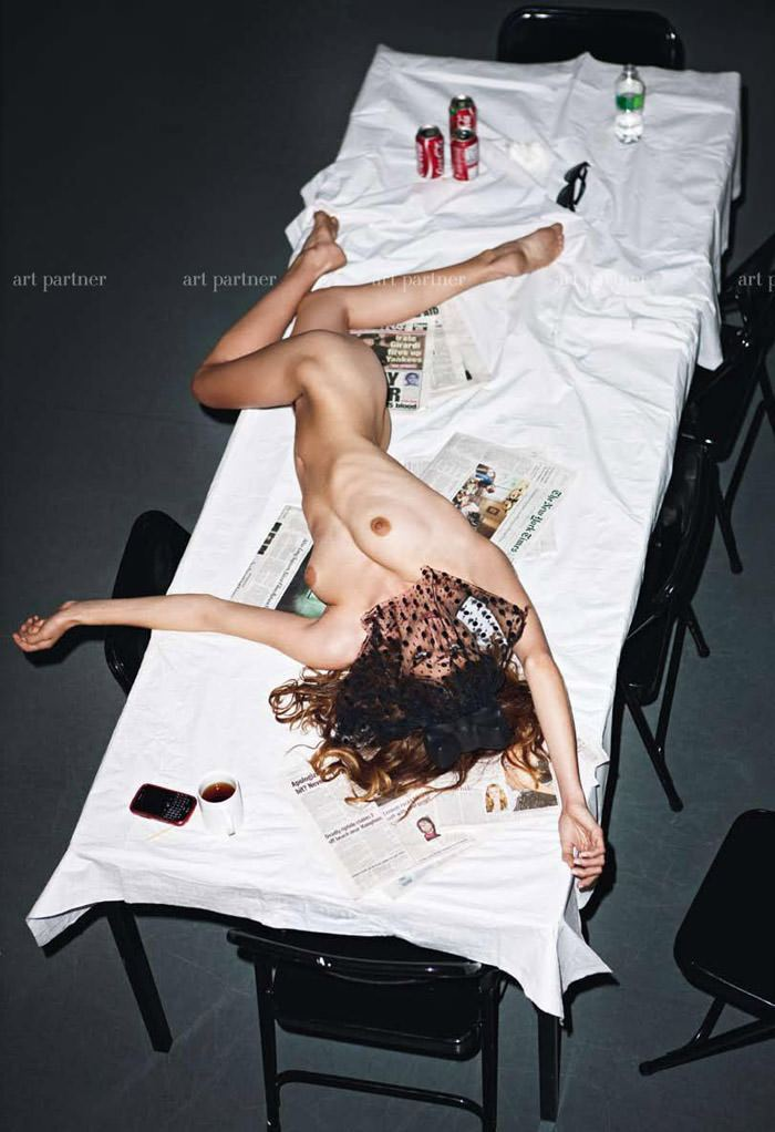 Elisa Sednaoui photographed by Mario Sorrenti for Purple #14 8