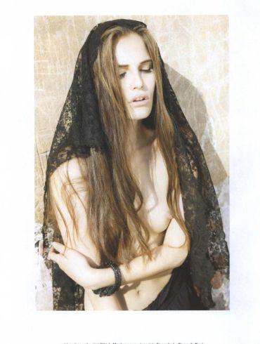 "Alla Kostromichova photographed by Ben Weller in ""Dancing In The Dark"" for Bon, Spring / Summer 2011 2"