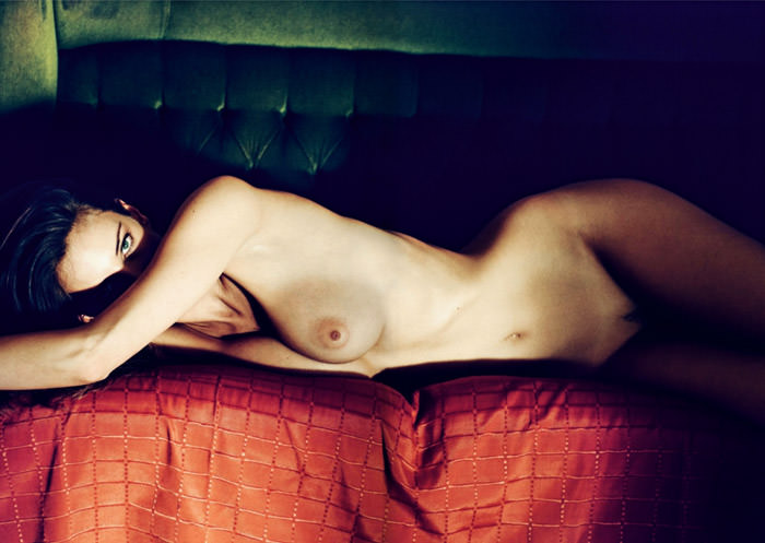 """Réka Ebergényi photographed by István Lábady in """"Flesh Of The Orchid"""" for The Room Magazine, Fall & Winter 2010 / 2011"""