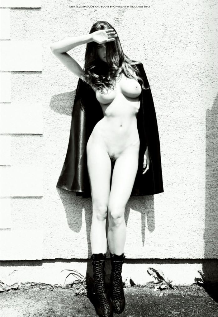 """Réka Ebergényi photographed by István Lábady in """"Flesh Of The Orchid"""" for The Room Magazine, Fall & Winter 2010 / 2011 9"""