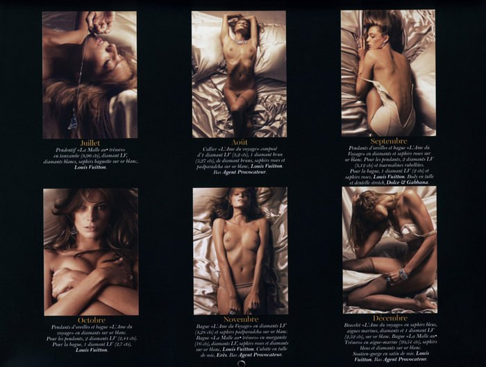 Le Calendrier 2011 Vogue: Daria Werbowy by Mikael Jansson 4