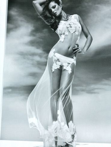 "Enikő Mihalik photographed by Greg Kadel in ""Like A Star"" for Vogue Italia, November 2010 1"