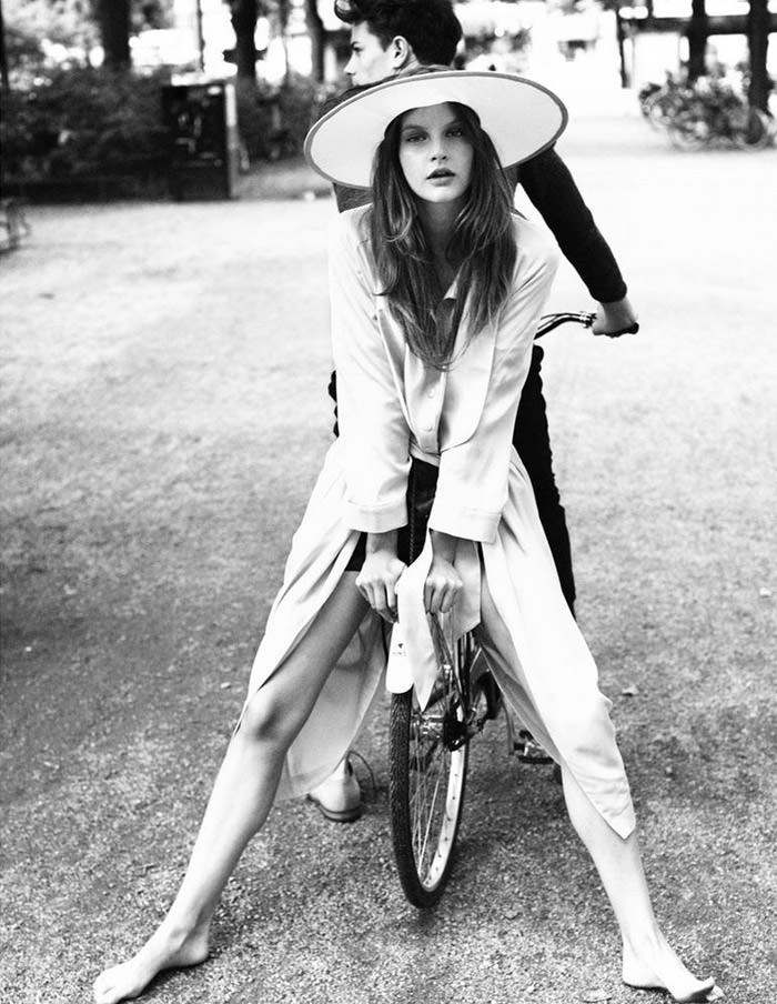 Sara Blomqvist (& Jeremy Young) photographed by Andreas Öhlund for Stockholm, Spring 2011 13