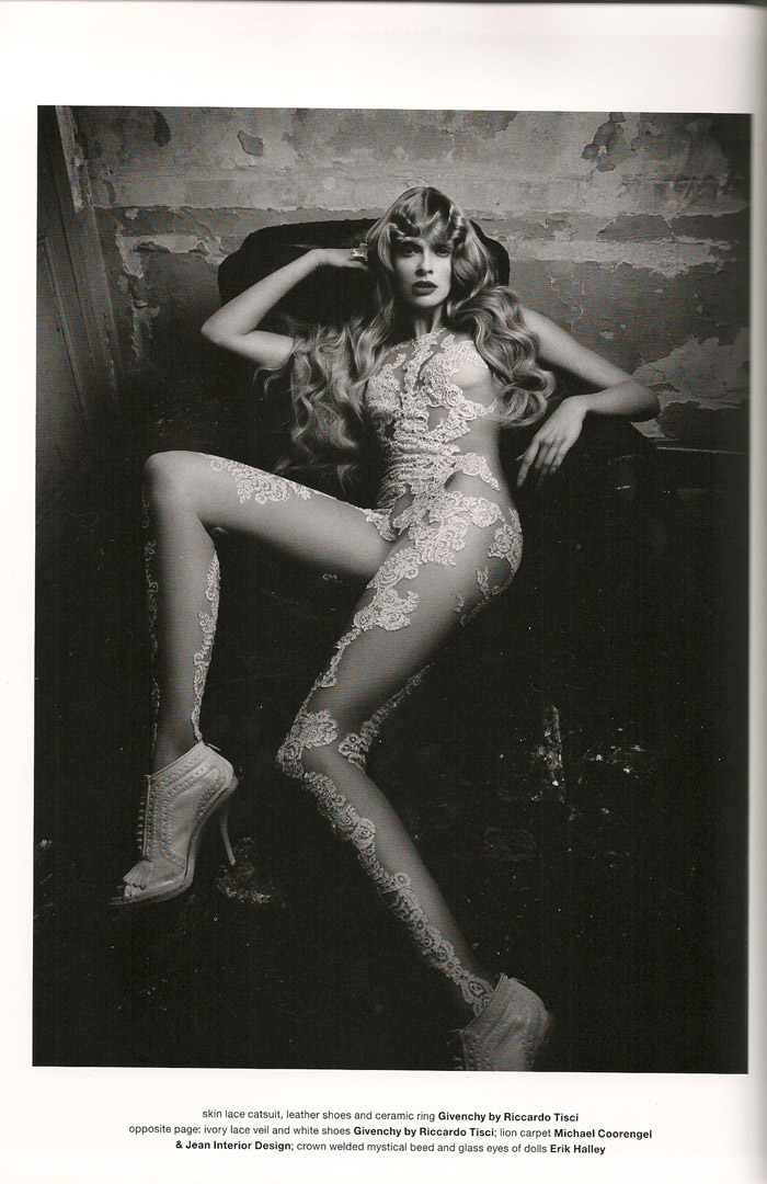"""Julia Stegner photographed by Daniele & Iango in """"Too Beautiful Julia"""" for Muse, Winter 2010 4"""