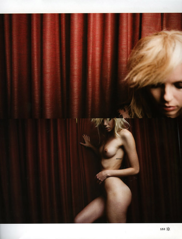 "Dorith Mous photographed by Andy Tan in ""For Your Pleasure"" for JFK Magazine, December & January 2010 / 2011"