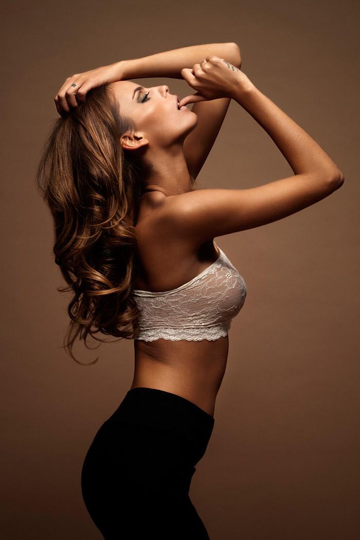 Daniela Freitas photographed by Pierre Dal Corso for Bambi Magazine