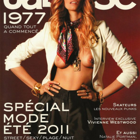 Cover: Marloes Horst photographed by Mason Poole for Jalouse #137, February 2011 1