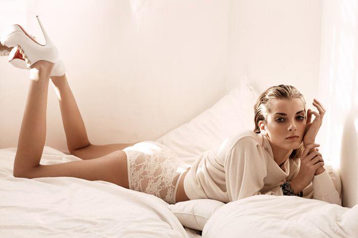 "Denisa Dvorakova photographed by Johan Sandberg in ""White Affair"" for Marie Claire Italia, January 2011 8"