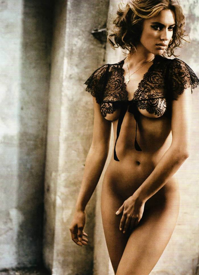 Irina Shayk photographed by Vincent Peters for GQ Spain, December 2010 12