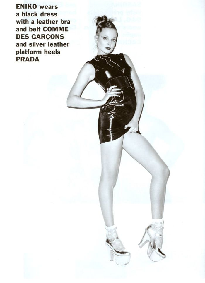 Enikő Mihalik and Edita Vilkeviciute photographed by Terry Richardson for Purple, Spring 2011 4
