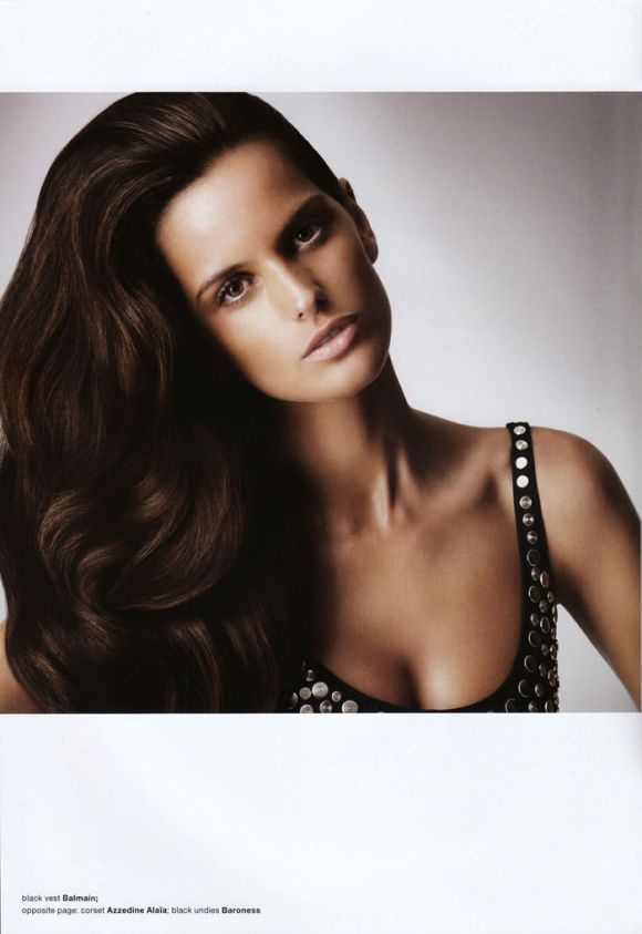 Izabel Goulart photographed by Danielle Duella and Iango Henzi in Muse #23, Spring 2011 1