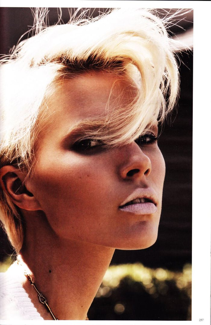 "Britt Maren photographed by Knoepfel & Indlekofer in ""Carte Blanche"" for Vogue Deutschland, April 2011 7"