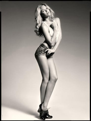 Candice Swanepoel photographed by Seth Sabal 2