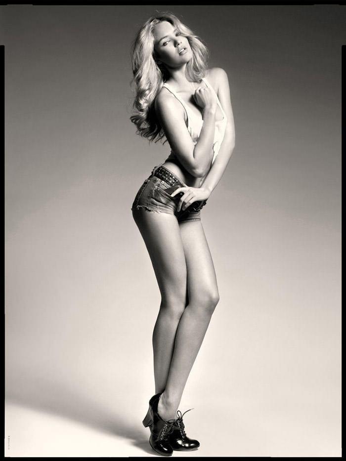 Candice Swanepoel photographed by Seth Sabal 8