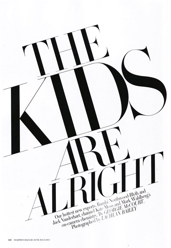 """Bambi Northwood-Blyth photographed by Lachlan Bailey in """"The Kids Are Alright"""" for Harper's Bazaar Australia, June 2011 2"""