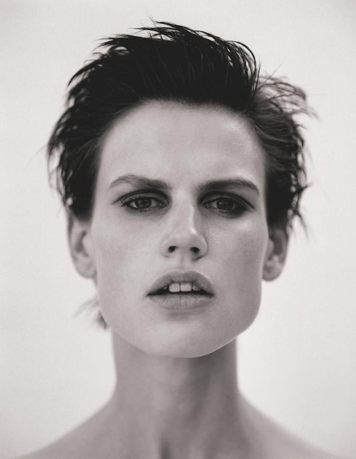 Saskia de Brauw photographed by Matthew Brookes for M Le Monde