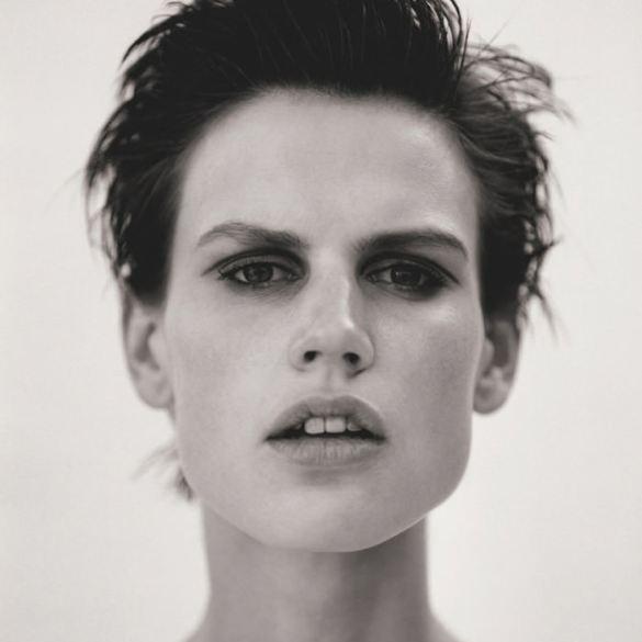 Saskia de Brauw photographed by Matthew Brookes for M Le Monde 1