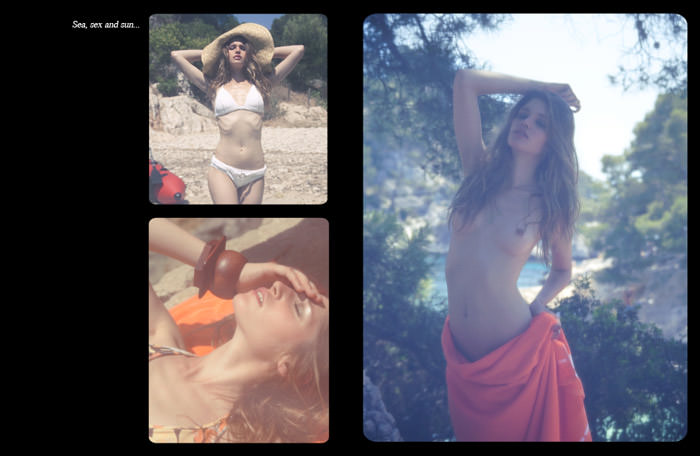 """Sea, Sex & Sun"" by Ludovic Andral for Hedo Magazine"