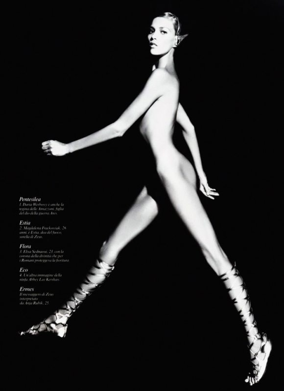 Karl Lagerfeld: Pirelli Calendar 2011 3