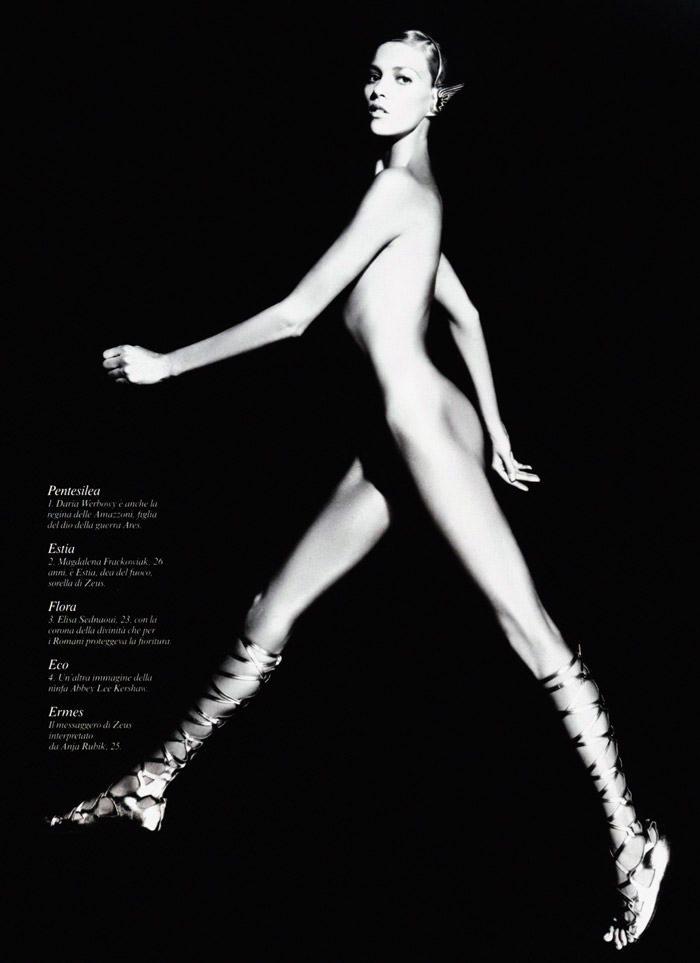 Karl Lagerfeld: Pirelli Calendar 2011 4