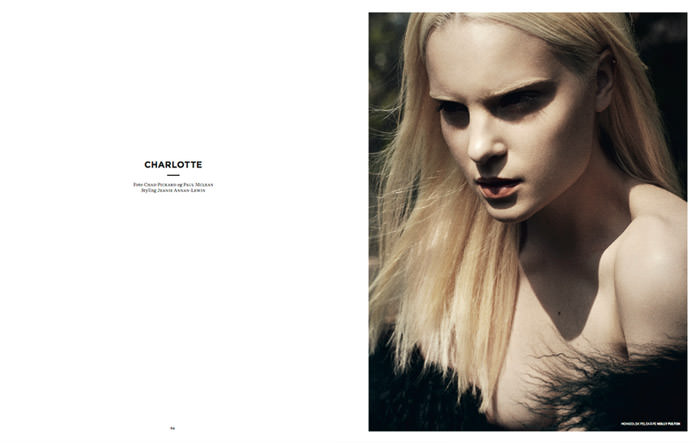 Charlotte photographed by Chad Pickard & Paul McLean for Smug #4