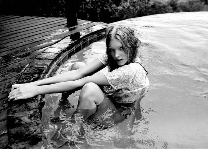 Elsa Hosk photographed by Yu Tsai for Contributor Magazine 2