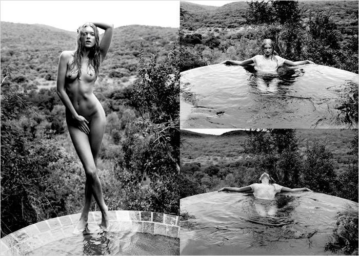 Elsa Hosk photographed by Yu Tsai for Contributor Magazine 3