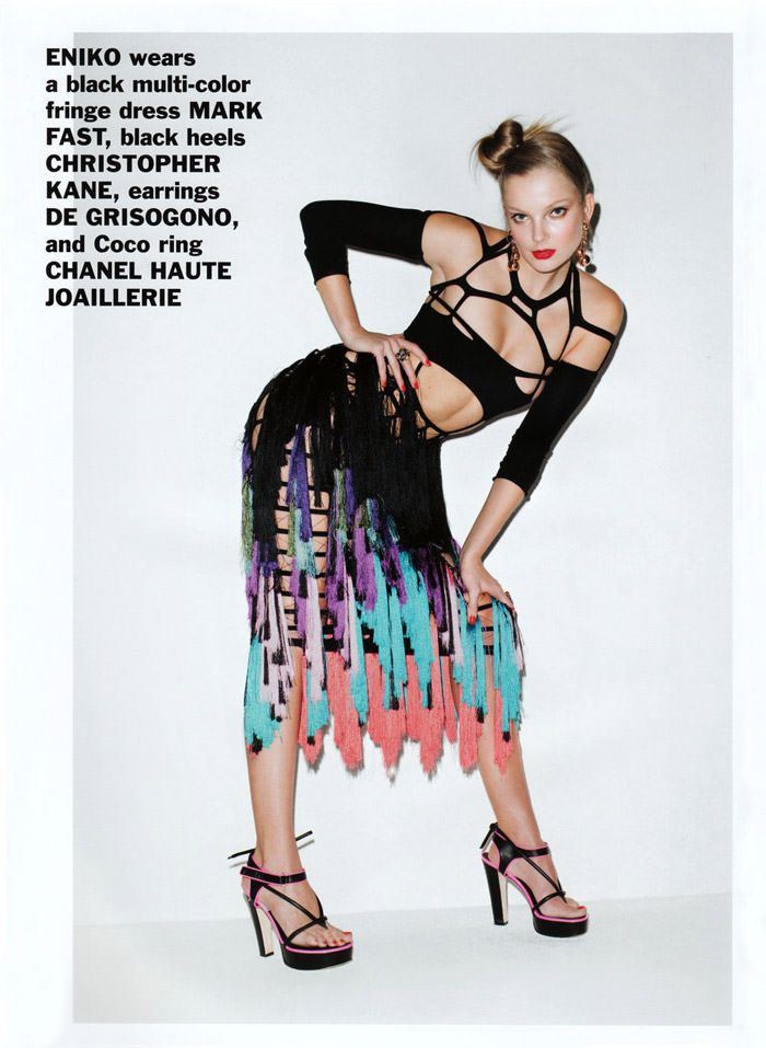 Enikő Mihalik photographed by Terry Richardson for Purple #15, Spring & Summer 2011 3