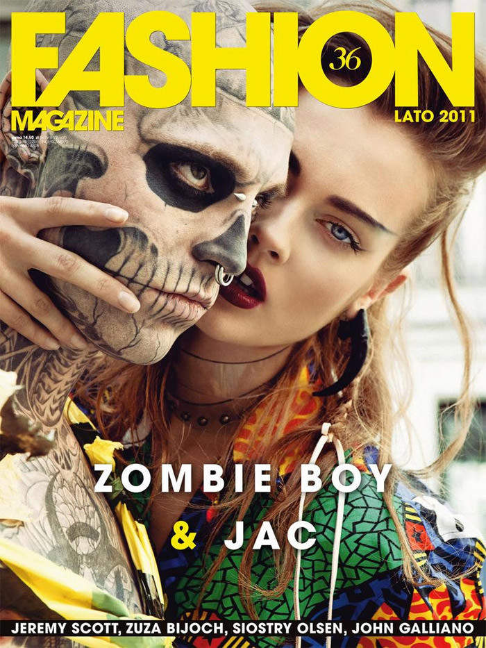 "Cover: Monika ""Jac"" Jagaciak for Fashion (Polska)"