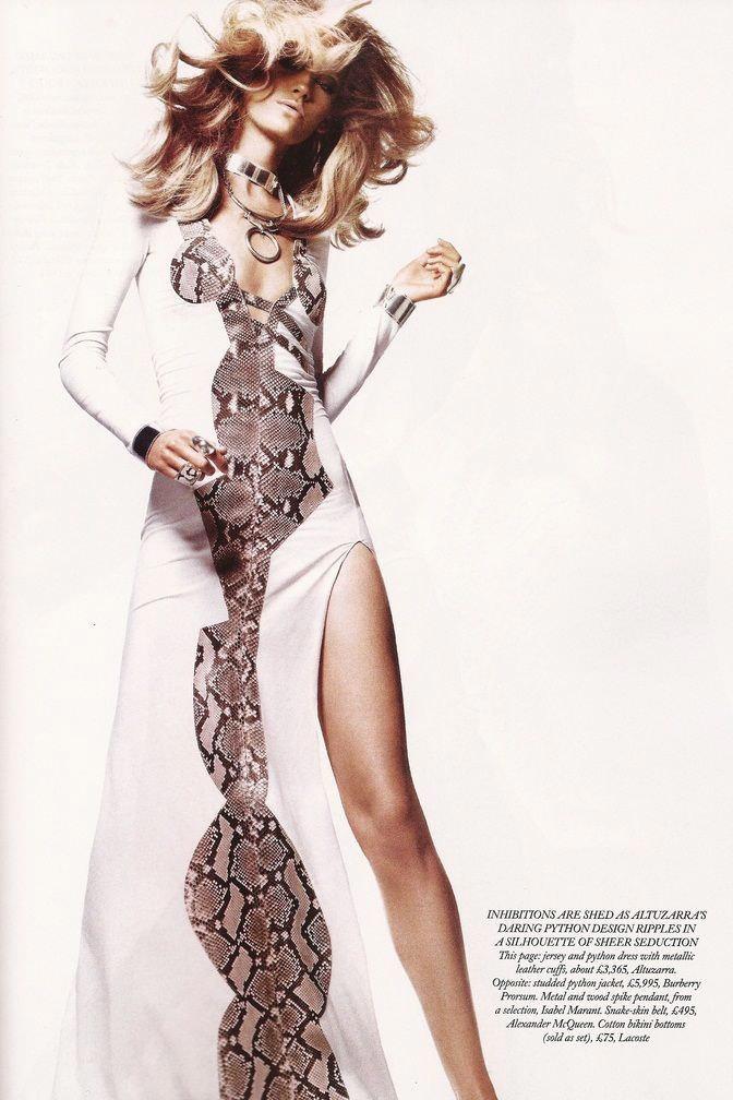 """Heidi Mount photographed by Jason Kibbler in """"Serpent's Kiss"""" for Harper's Bazaar UK, June 2011 8"""