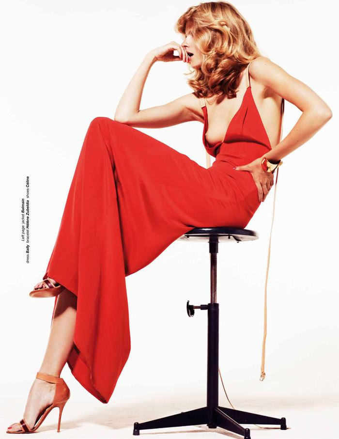 """Julia Stegner photographed by Philip Gay in """"Let The Night Fall"""" for Zoo Magazine, Summer 2011 11"""