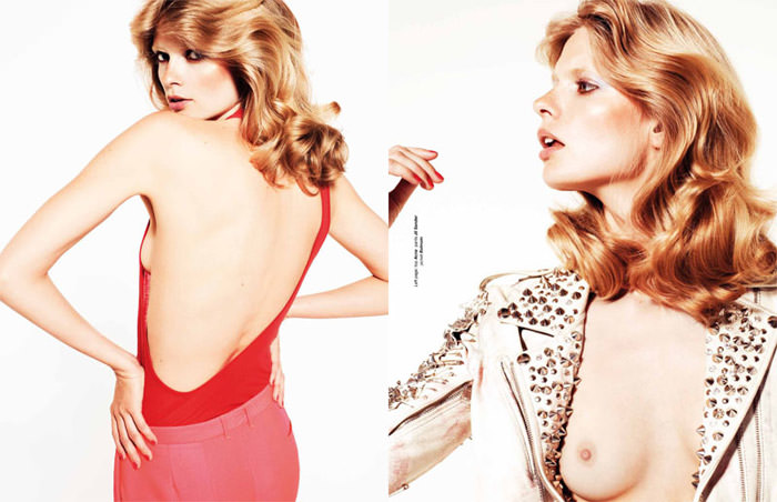 """Julia Stegner photographed by Philip Gay in """"Let The Night Fall"""" for Zoo Magazine, Summer 2011 9"""