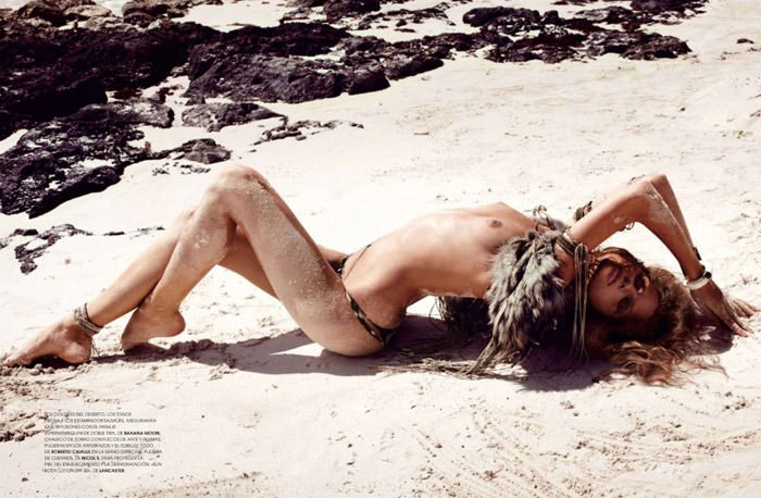 """Regina Feoktistova photographed by David Roemer in """"New Age"""" for Marie Claire España, July 2011 10"""
