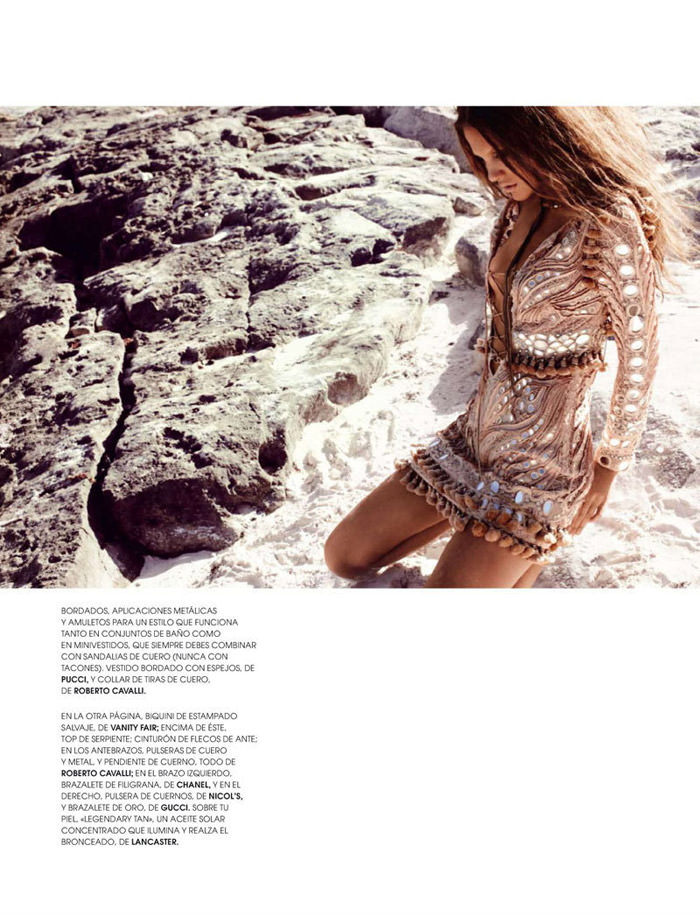 """Regina Feoktistova photographed by David Roemer in """"New Age"""" for Marie Claire España, July 2011 4"""