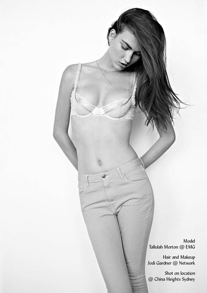 Tallulah Morton by Bec Parsons for LoveWant Magazine