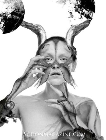 Sylwia Blaszczyk by Diego Indraccolo for Schon on Fashionography