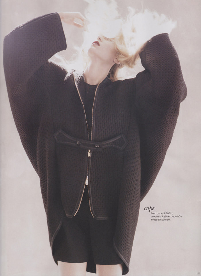 Theres Alexandersson by Andreas Sjodin for Elle Sweden
