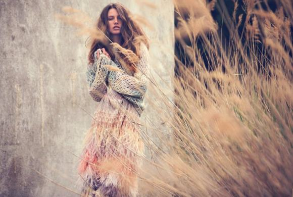 Mona Johannesson by David Bellemere for Marie Claire Italy