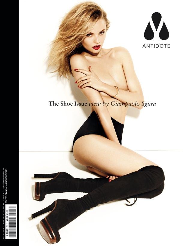 Magdalena Frackowiak by Giampaolo Sgura for Magazine Antidote