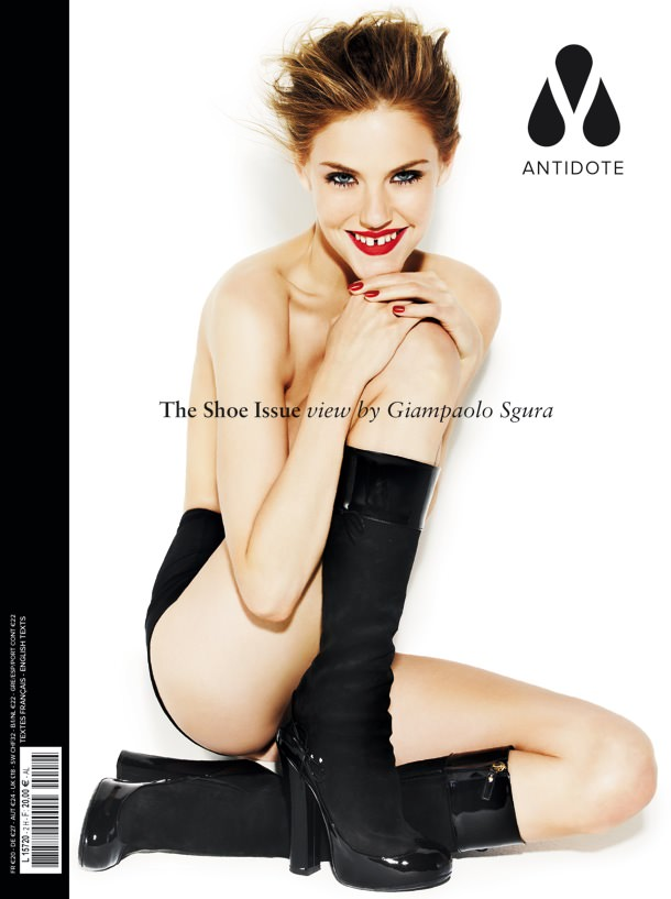 Ashley Smith by Giampaolo Sgura for Magazine Antidote