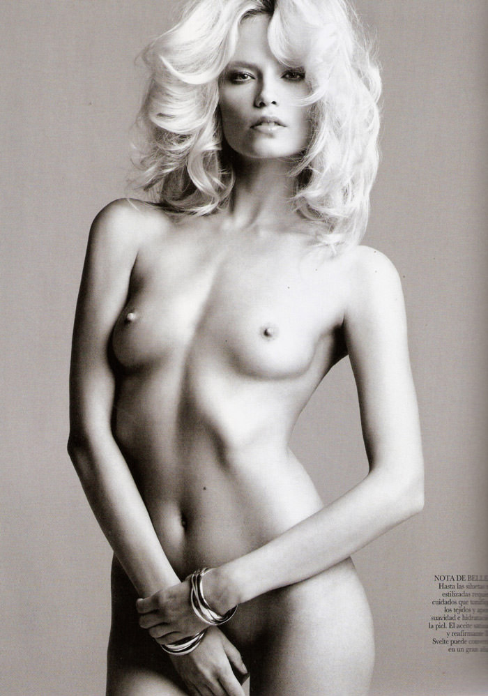 Natasha Poly by Inez & Vinoodh for Vogue Spain