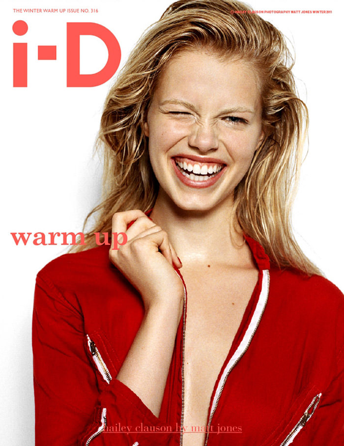 Covers of i-D, Winter 2011